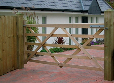 Five Bar Gate Installed in Peterborough